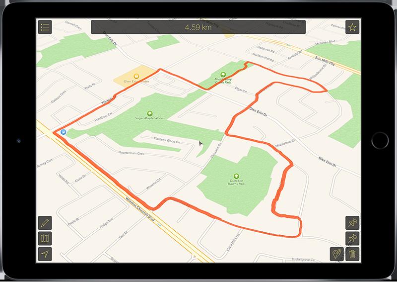 Map Calculator 2 for iOS